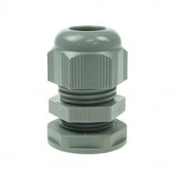20mm Grey Nylon Cable Gland With Small Hole