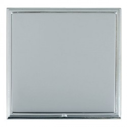Hamilton Linea-Scala CFX Bright Chrome/Bright Steel Single Blank Plate
