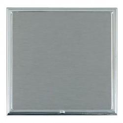 Hamilton Linea-Scala CFX Bright Chrome/Satin Steel Single Blank Plate