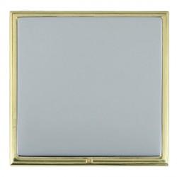 Hamilton Linea-Scala CFX Polished Brass/Bright Steel Single Blank Plate