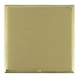 Hamilton Linea-Scala CFX Polished Brass/Satin Brass Single Blank Plate