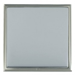 Hamilton Linea-Scala CFX Satin Nickel/Bright Steel Single Blank Plate