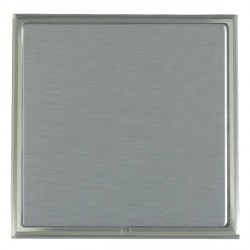 Hamilton Linea-Scala CFX Satin Nickel/Satin Steel Single Blank Plate