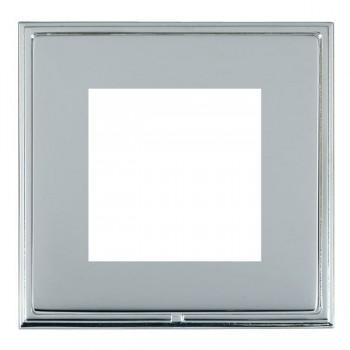 Hamilton Linea-Scala CFX Bright Chrome/Bright Steel Single Plate c/w 2 EuroFix Apertures + Grid