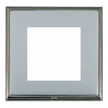 Hamilton Linea-Scala CFX Black Nickel/Bright Steel Single Plate c/w 2 EuroFix Apertures + Grid