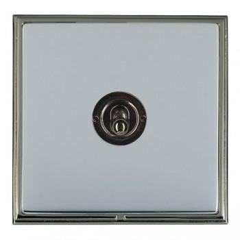 Hamilton Linea-Scala CFX Black Nickel/Bright Steel 1 Gang Intermediate Dolly with Black Nickel Insert