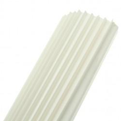 Univolt 12mm White PVC Capping 10 Lengths