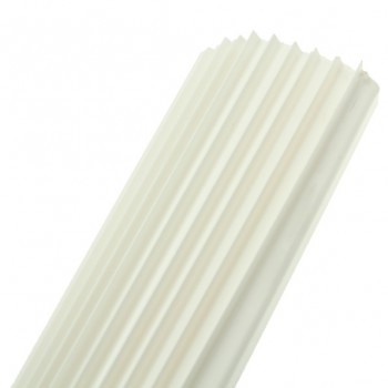 Univolt 12mm White PVC Capping 10 Lengths