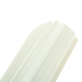 Univolt 25mm White PVC Capping 10 Lengths