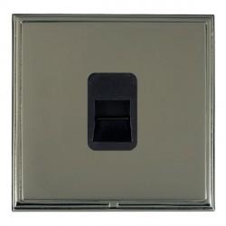 Hamilton Linea-Scala CFX Black Nickel/Black Nickel 1 Gang Telephone Master with Black Insert