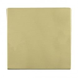 Hamilton Sheer CFX Polished Brass Single Blank Plate