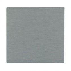 Hamilton Sheer CFX Satin Steel Single Blank Plate