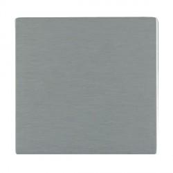 Hamilton Sheer CFX Satin Steel Single Blank Plate