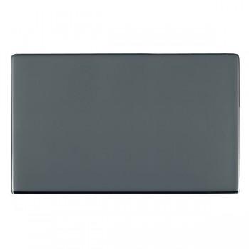 Hamilton Sheer CFX Black Nickel Double Blank Plate