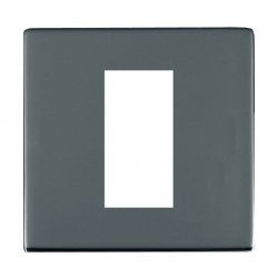 Hamilton Sheer CFX EuroFix Plates Black Nickel Single Plate c/w 1 EuroFix Apertures + Grid