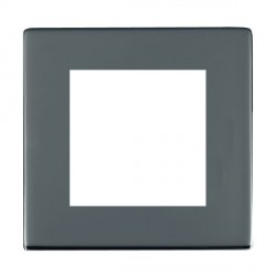 Hamilton Sheer CFX EuroFix Plates Black Nickel Single Plate c/w 2 EuroFix Apertures + Grid