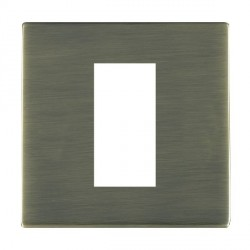 Hamilton Sheer CFX EuroFix Plates Antique Brass Single Plate c/w 1 EuroFix Apertures + Grid