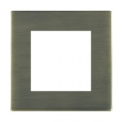 Hamilton Sheer CFX EuroFix Plates Antique Brass Single Plate c/w 2 EuroFix Apertures + Grid