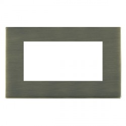 Hamilton Sheer CFX EuroFix Plates Antique Brass Double Plate c/w 4 EuroFix Apertures + Grid