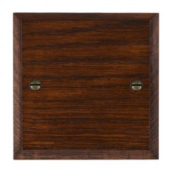 Hamilton Woods Chamfered Antique Mahogany Single Plate