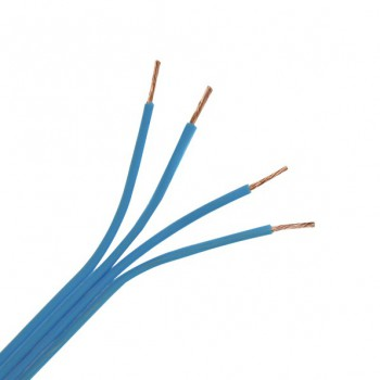 Blue 4 Core Speaker Cable 200 Metre Drum