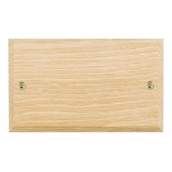Hamilton Woods Chamfered Light Oak Double Plate