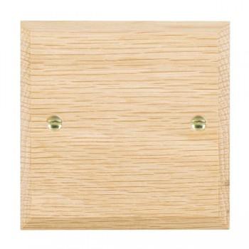Hamilton Woods Chamfered Light Oak Single Plate