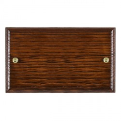 Hamilton Woods Ovolo Antique Mahogany Double Plate
