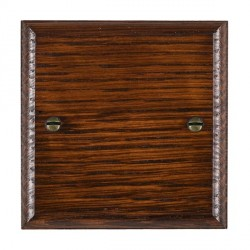 Hamilton Woods Ovolo Antique Mahogany Single Plate