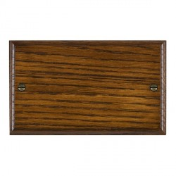 Hamilton Woods Ovolo Dark Oak Double Plate