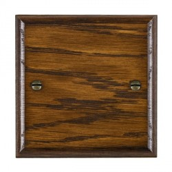 Hamilton Woods Ovolo Dark Oak Single Plate