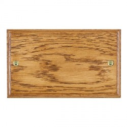 Hamilton Woods Ovolo Medium Oak Double Plate