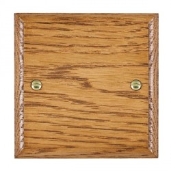 Hamilton Woods Ovolo Medium Oak Single Plate