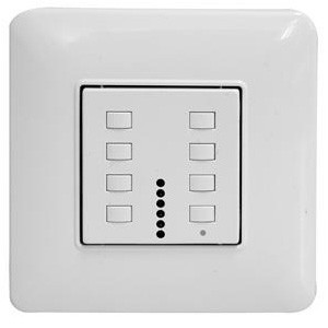 Wise Controls White 42 Channel Skin Switch