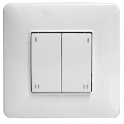 Wise Controls White 4 Channel Wise Skin Switch
