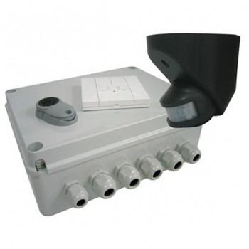 Wise Controls WiseDim PIR Kit - 4 Channel, Style Switch, Remote & PIR Sensor