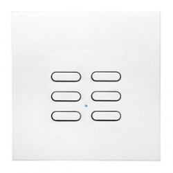 Wise Controls Intense White 6 Channel Switch
