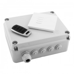Wise Controls WiseBox Kit 4 Channel Intense Switch and Remote