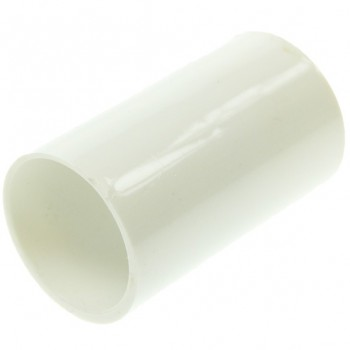 Univolt White 25mm PVC Coupler