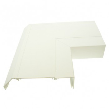 Univolt 50mmx170mm Skirting Trunking Downward Flat Angle