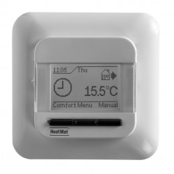 Heat Mat 16amp 3600W Programmable Underfloor Heating Thermostat - White