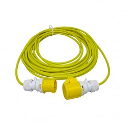 CED 14 Metre 16Amp 110V Cable 1.5mm Arctic Yellow