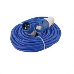 CED 14 Metre 16Amp 240V Cable 1.5mm Arctic Blue