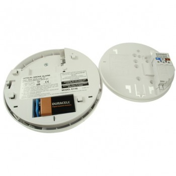 Aico 230v Mains Powered Optical Smoke Alarm