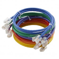 Assynia Un-booted Cat 5E 0.3 Metre UTP Patch Lead