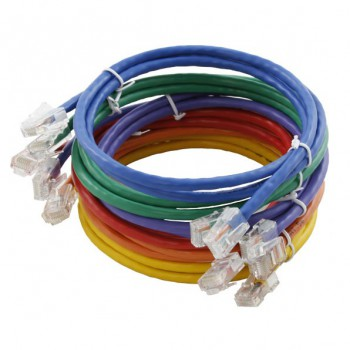 Assynia Un-booted Cat 5E 0.5 Metre UTP Patch Lead