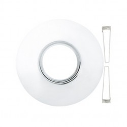 Emcolite Polished Chrome Downlight Conversion Plate