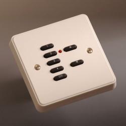 Rako Wall Switch 7 Button White
