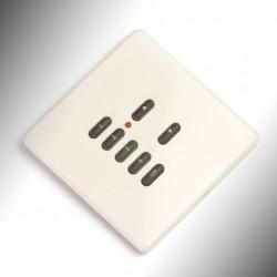 Rako Wall Switch 7 Button White Screwless