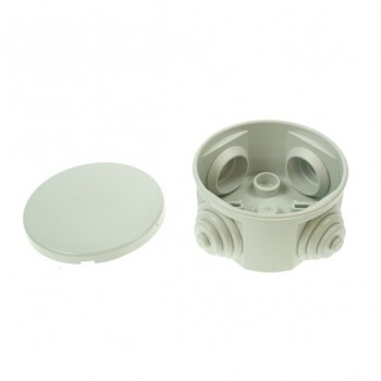 Gewiss 65mm Circular Weatherproof Box